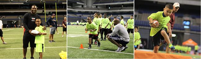 Shining Star ENERGY Youth Football Clinic - Valero Alamo Bowl
