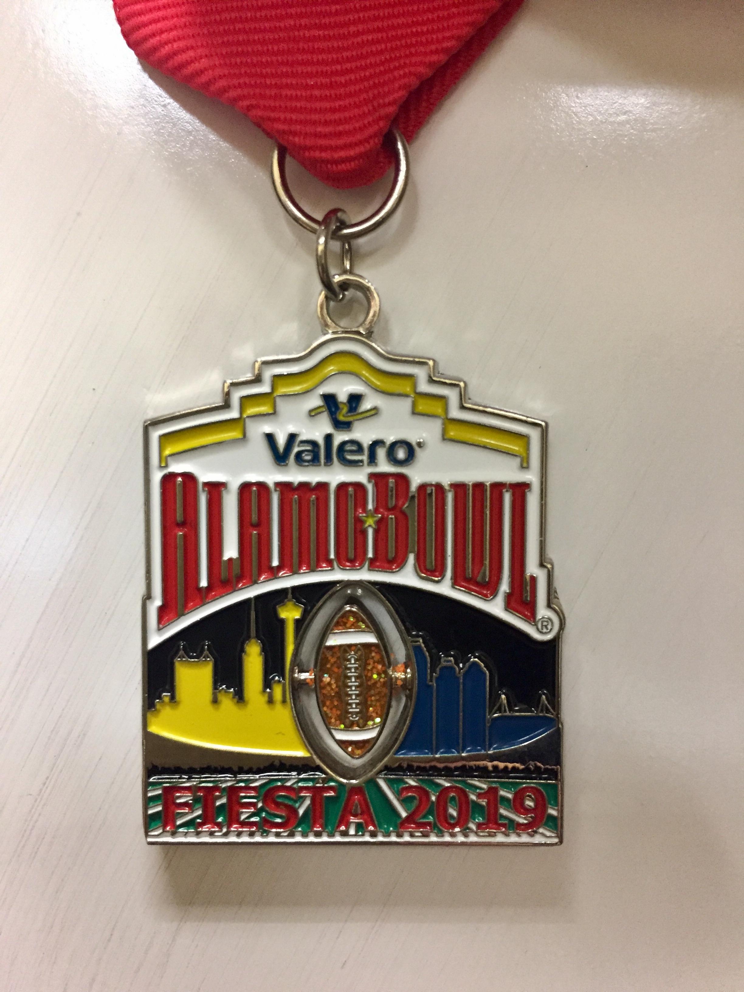 d1b2d7d976453e 2019 Fiesta Medal - Valero Alamo Bowl